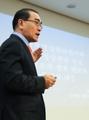 投韩朝鲜前公使发表演讲