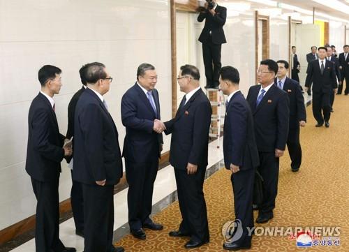 북한 고위급 인사, 중국 방문