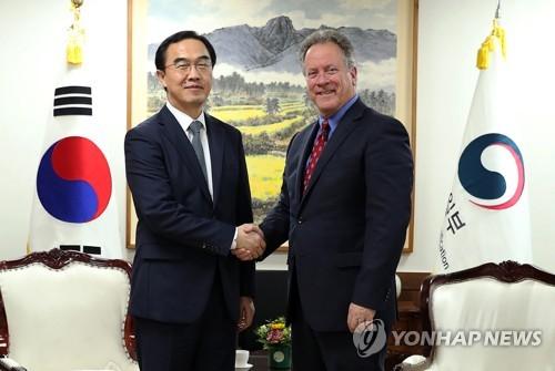 统一部长官会WFP执行干事