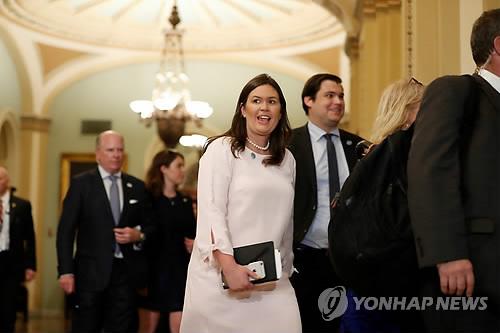 """백악관 """"북한 발표내용 살펴볼 것…동맹국들과 긴밀 조율"""""""
