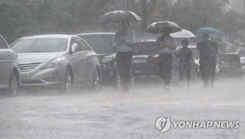 폭우  [연합뉴스 자료사진]