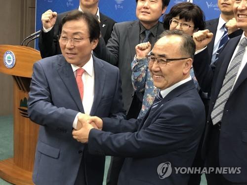 강원교육감 선거 진보진영 후보 민병희로 단일화