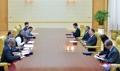 Una delegación de la Cancillería india visita Corea del Norte