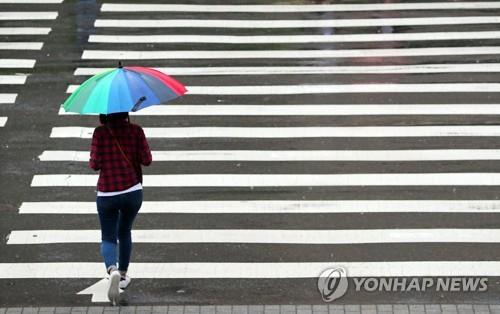 오늘도 비 내리는 출근길