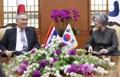 タイ外相と会談