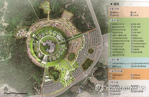 제주 '솟을신화역사공원' 마스터 플랜[연합뉴스 자료사진]