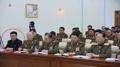 El exlíder del Ejército norcoreano asiste a una reunión de la comisión militar