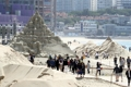 Sand sculpture festival in Haeundae