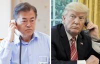 워싱턴 가는 문대통령… 북미 간 비핵화 중재 시험대