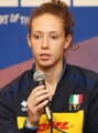 Italian player at int'l volleyball tournament