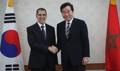 韩总理会摩洛哥首相