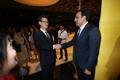 YNA President Cho Sung-boo with Azerbaijan envoy