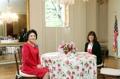 La primera dama de Seúl y la segunda dama de Washington