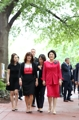 S. Korean first lady meets U.S. vice president's wife