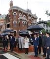 Saludando al pueblo coreano en EE. UU.