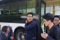 韓国記者団が北朝鮮に到着