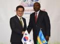 Avec le PM rwandais