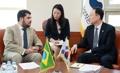 Ministres de l'Industrie Corée-Brésil