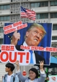 Anti-U.S. rally over U.S.-N. Korean summit cancellation