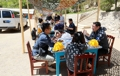 Déjeuner à Punggye-ri