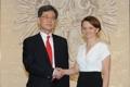 韩产业部高官会见波兰企业部长
