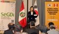 Cooperación en gobierno electrónico Corea del Sur-Perú