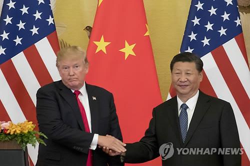 """WP """"트럼프, 북한과 데탕트 접어들자 중국 때리기 가속"""""""