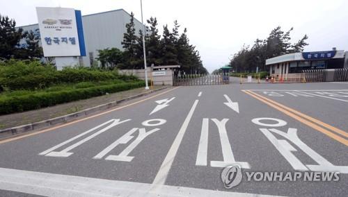 韓国GMの群山工場=(聯合ニュース)