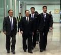 Kim Yong-chol à Pékin