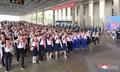 Evento de estudiantes norcoreanos