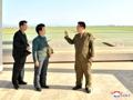 Inspección de un funcionario norcoreano