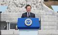 El presidente conmemora el Día de los Caídos