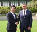 Vice-PM coréen et russe