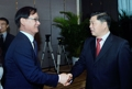 韩产业部高官与广东副省长会面