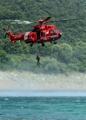 水難事故に備え訓練