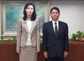 日本の内閣法制局長官と会談