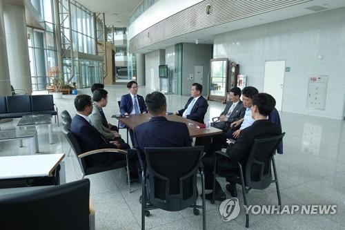남북공동연락사무소 추진단 개성공단 방문