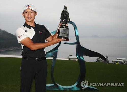 김민휘, 5년 8개월만에 국내 대회 우승