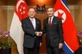 Chefs des diplomaties nord-coréenne et singapourienne