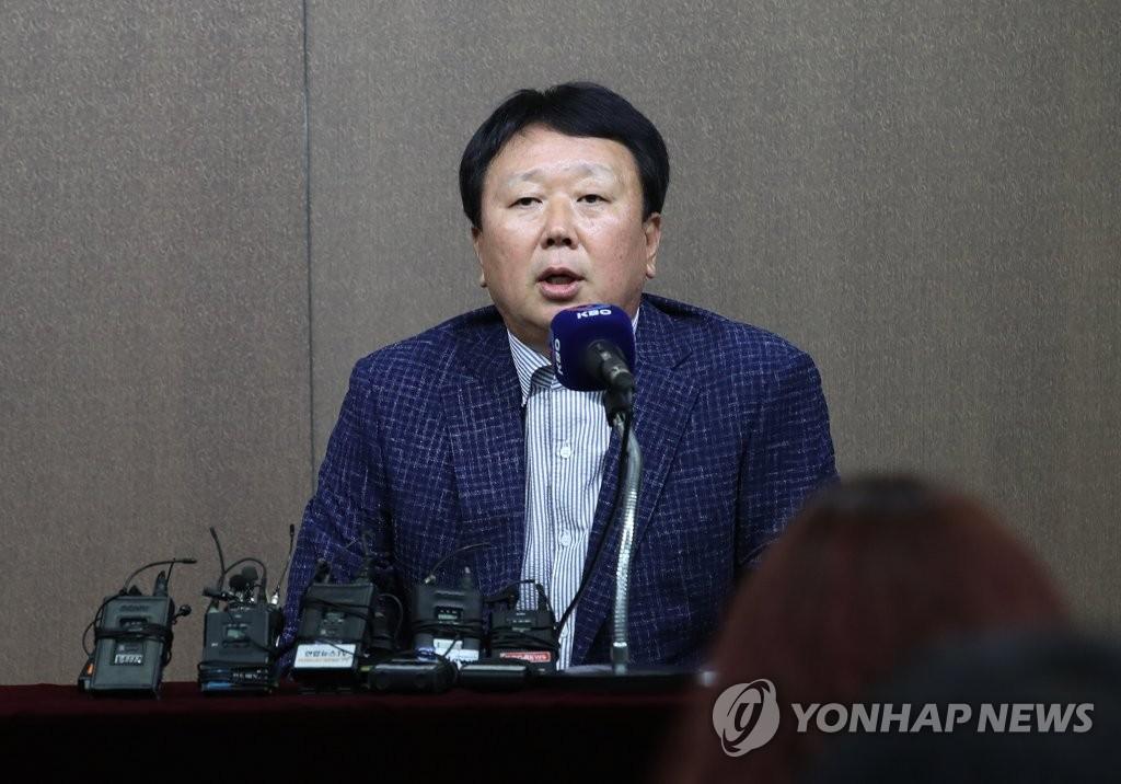아시안게임 야구대표팀 명단 발표하는 선동열 감독