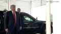 Trump llega al lugar de la cumbre