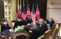 Sommet élargi Kim-Trump