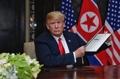 Trump avec le document commun