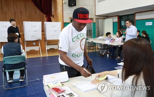 外国人也投票
