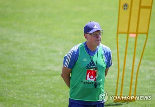 [월드컵] 스웨덴팀 감독, 한국전 구상은?