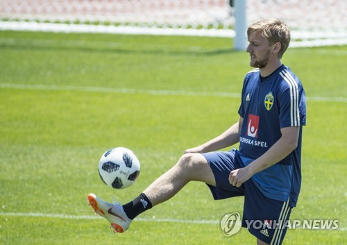 [월드컵] 스웨덴 미드필더 에밀 포르스베리