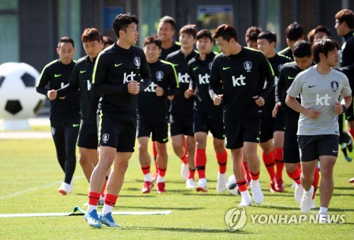 [월드컵] 손흥민 '나를 따르라'