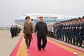 NK leader returns home