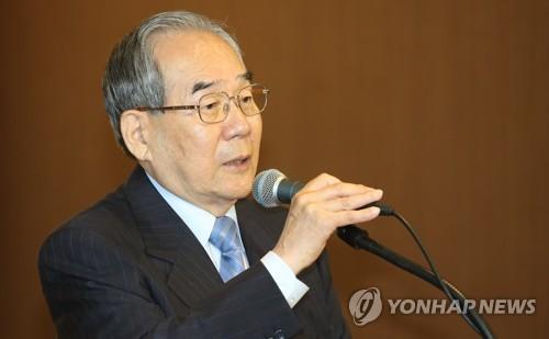 축사하는 임동원 전 통일장관
