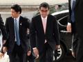 日本外相出席韩美日外长会